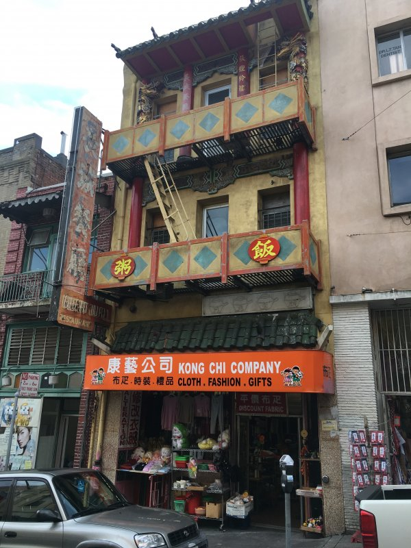 Historical Chinatown Building