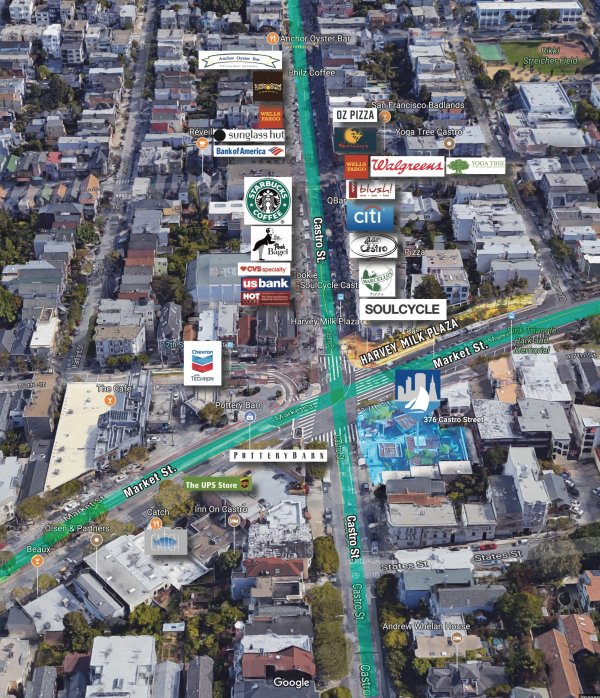 San Francisco Light Industrial Zoning: 376 Castro Street San Francisco, CA