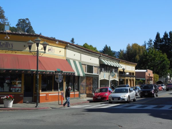 Marin County Corner Mixed Use Bldg