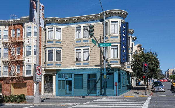 Prime Corner Frontage on Lombard