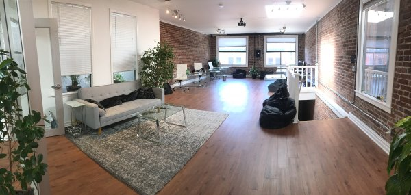 Brick and Timber Office In Jackson Sq!