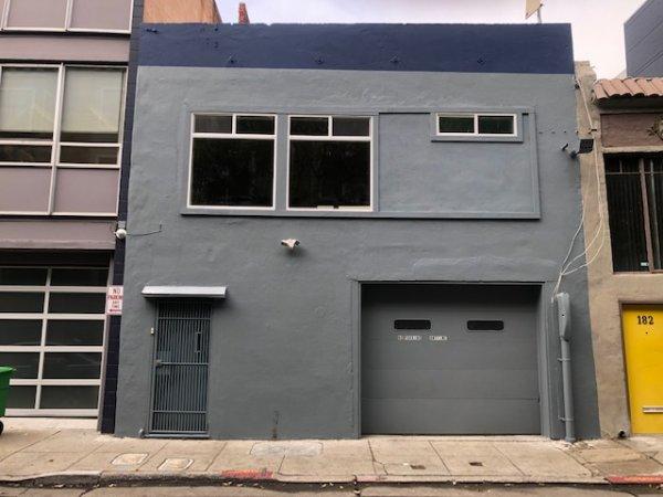 Parking/Work Area & 2nd Floor Office
