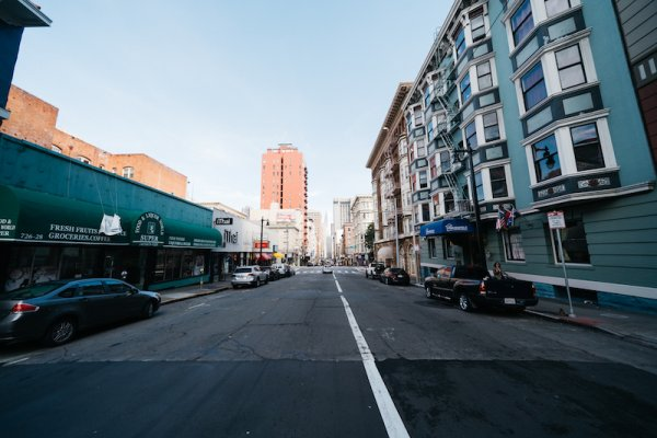 Lower Nob Hill Retail Building For Sale